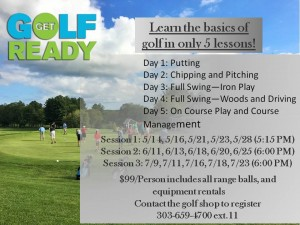Get Golf Ready 2019 Flyer